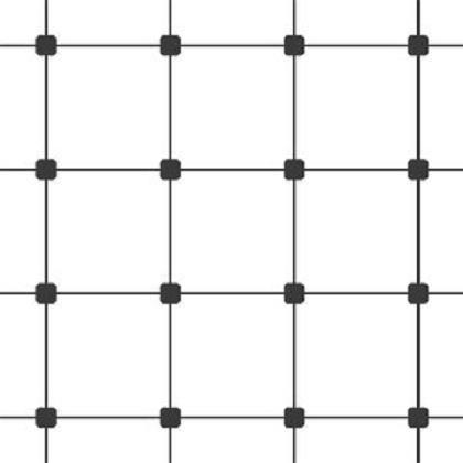 Carpet tile grid installation