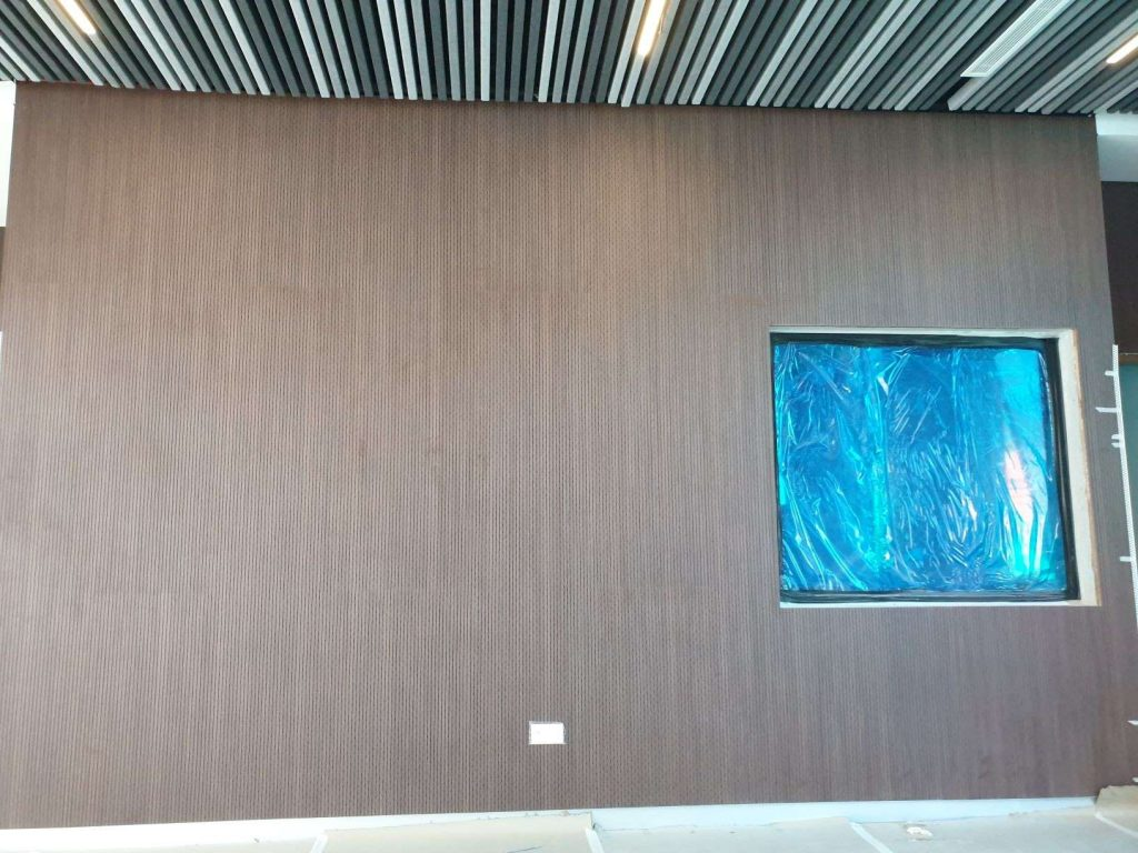 13-3 grooved acoustic timber panel